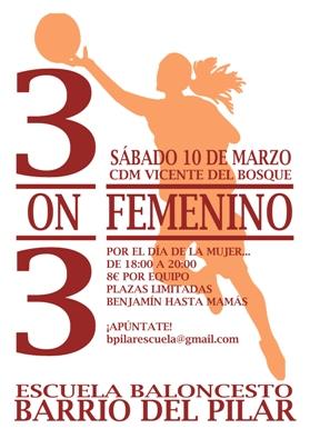 3X3 FEMENINO